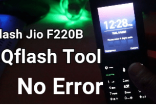 Lyf Jio F220B Flash File And Tool [ Jio F220B Firmware