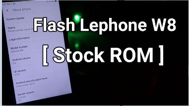 Flash Lephone W8