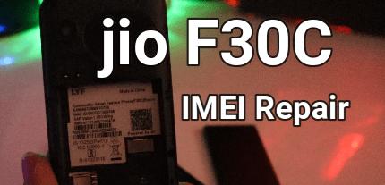 Jio F30C IMEI Repair