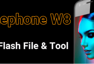 lephone w8 flash file