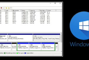 Open Disk Management In Windows 10 PC
