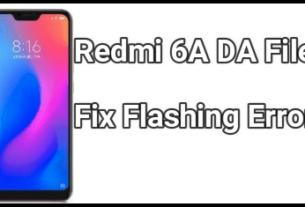 Redmi 6A DA File