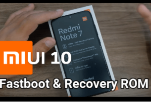 Redmi Note 7 Pro MIUI 10 Global Stable v10.2.7.0 Fastboot ROM