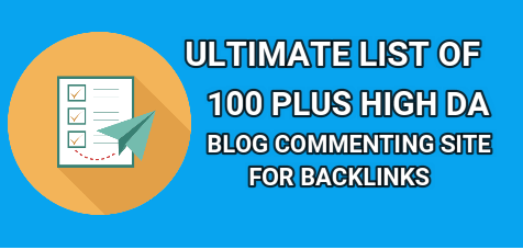 High DA Blog Commenting Sites