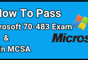 Pass Microsoft 70-483 Exam and Attain MCSA
