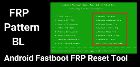 Android Fastboot FRP Reset Tool
