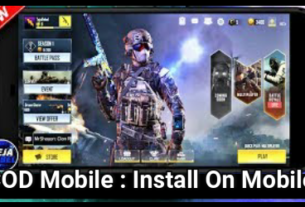 Install Call Of Duty Mobile On Android Phone