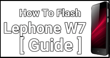 Flash Lephone W7