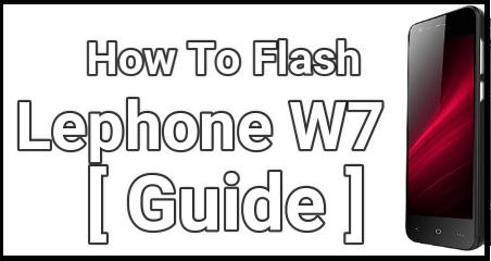 Flash Lephone W7