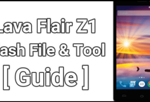Lava Flair Z1 Flash File