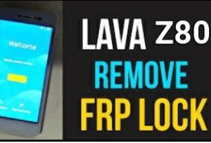 Lava Z80E FRP Unlock