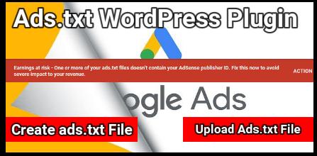 Add Ads.txt File In Wordpress Site