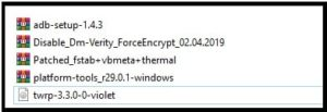redmi note 7 pro root files