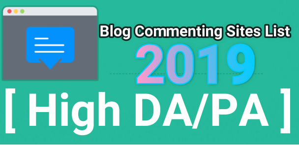 blog commenting sites 2019