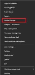 device manger windows 10