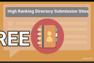 High Ranking Directory Submission Sites
