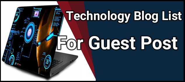 Tech Blogs That Accept Guest Posts