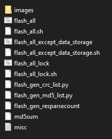 xiaomi Mi A3 fastboot ROM files
