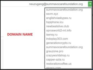 EMAILFAKECOM domain ame list