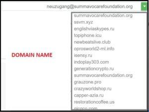 EMAILFAKECOM domain ame list