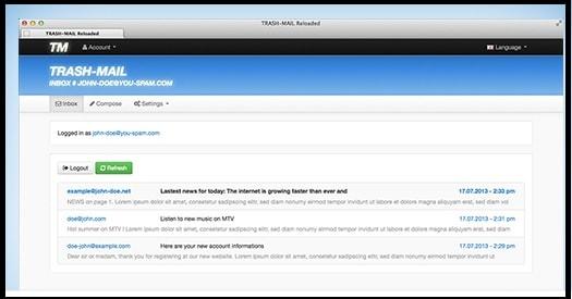 TREAH MAIL fake email generator