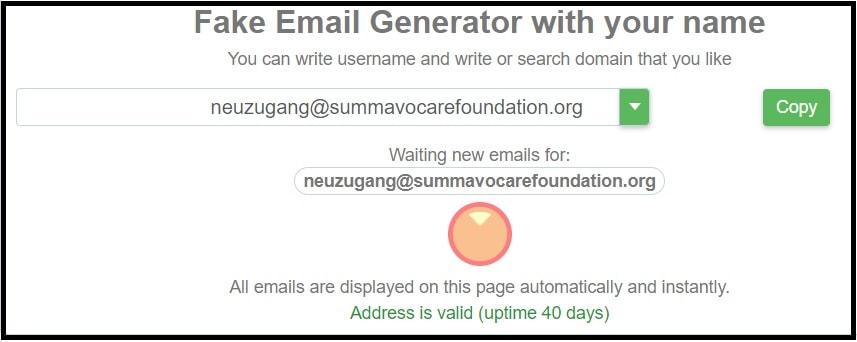emailfake generator