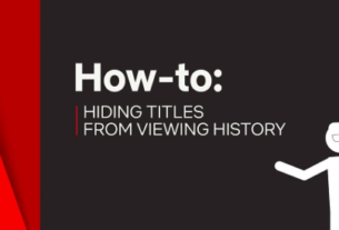 Delete Netflix History on Android