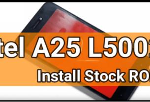 Flash Itel A25 L5002