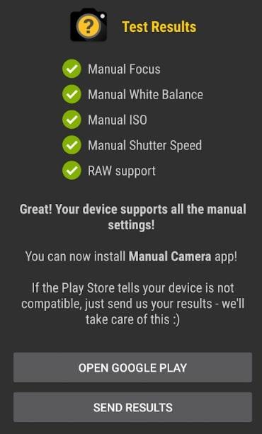 camera2api status checking app