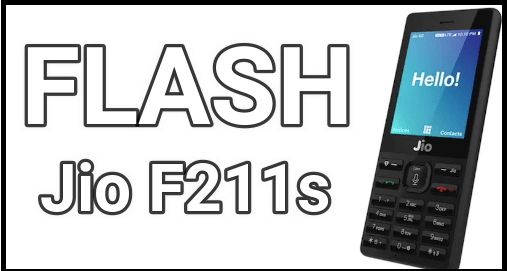Flash LYF Jio F211s