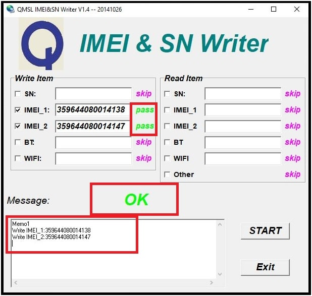 new qualcomm IMEI tool QMSL IMEI