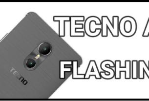 Flash Tecno A6