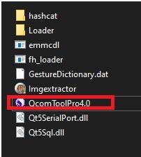 QCOMtoolpro setup