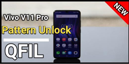 Vivo V11 Pro Pattern Unlock With QFIL Tool