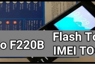 Jio F220B Flash Tool