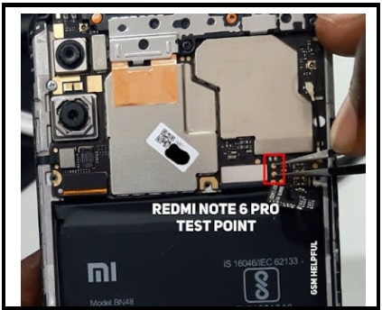 redmi note 6 pro test points