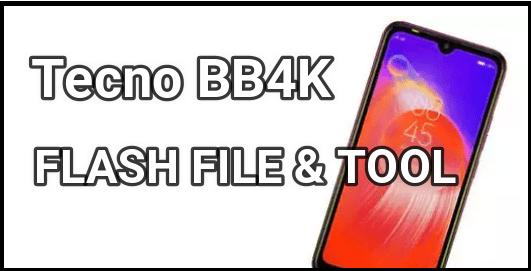 Tecno BB4K Flash File