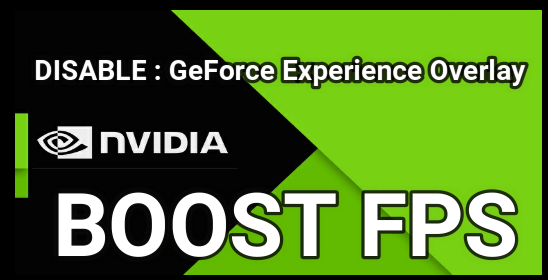 Disable Nvidia GeForce Experience Overlay