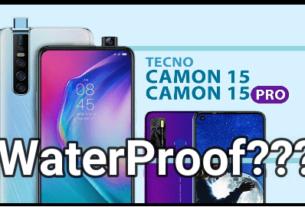 Tecno Camon 15 Pro Waterproof