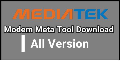 Download Modem Meta Tool