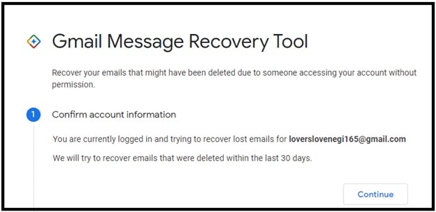 gmail message recovery tool