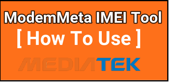 How To Use ModemMeta Tool