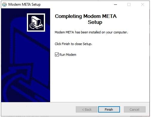 modem meta tool installation