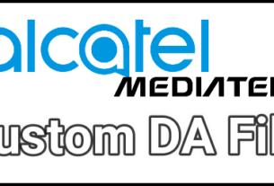 Download Alcatel MTK DA File