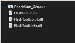 checksum file generator files