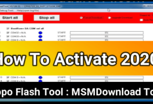 Activate Oppo Flash Tool