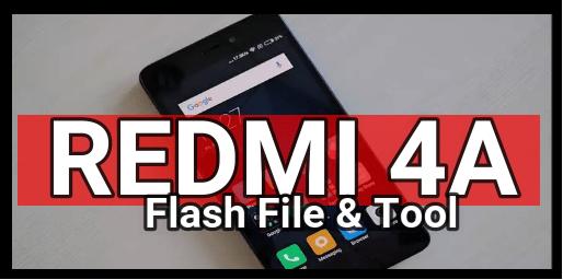 redmi 4a flash file
