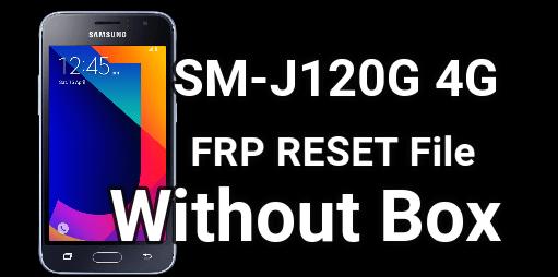 Samsung J120G FRP Unlock File