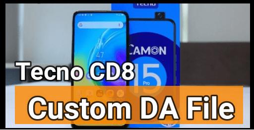 Tecno Camon 15 Pro DA File