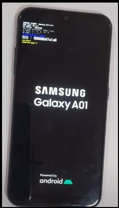 galaxy a01 downloading mode